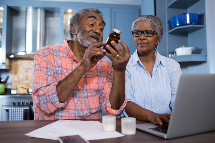 Managing multiple medications can be challenging for older adults.
