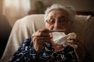 Know the Early Signs of the Flu to Keep Your Senior Loved One Safe