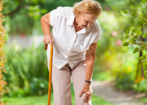 Joint and knee stiffness from osteoarthritis can increase the risk of falls for older adults.